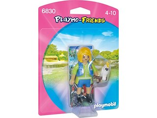 Playmo Friends 6830 - Tiertrainerin mit Kakadu -