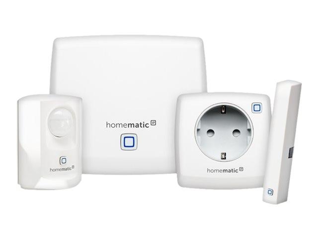 HomeMatic IP Einsteigerpaket Sicherheit plus HmIP-SK3 143399