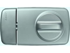Abus Tür-Zusatzschloss mit Drehknauf 7010 S, silber