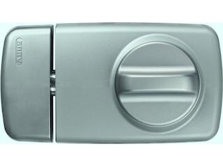 Abus Tür-Zusatzschloss mit Drehknauf 7010 S, silber -