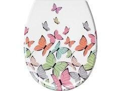 Kleine Wolke WC-Sitz Butterflies