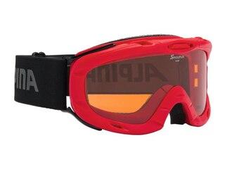 Alpina Ruby S Skibrille (451 rot, Scheibe: SINGLEFLEX) -