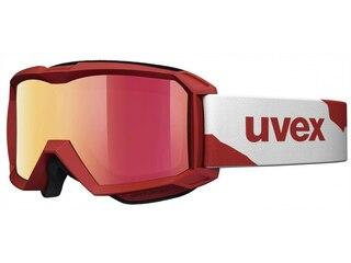 Uvex flizz LM Skibrille Kinder rot/weiß -