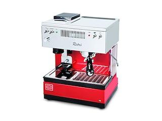 Quickmill 835 Retro Siebträgermaschine rot -