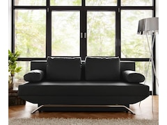 DeLife Bettsofa Cady Weiss 200x90 cm