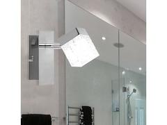 Globo LED Strahler nickel-matt, chrom, ANKARA 56193-1