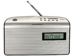 Grundig Music BP 7000, DAB+ Radio, Schwarz/Silber