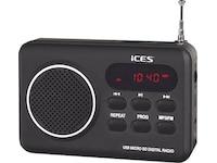 iCES IMPR-112, Radio, Schwarz