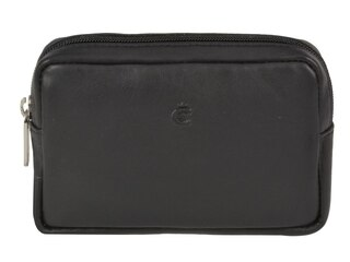 Esquire Logo Kameratasche Leder 12,5 cm Esquire schwarz -