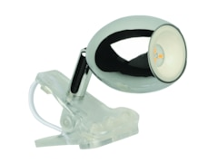 JEDI Lighting JEDI 1420017 AraLED Clip Light Klemmleuchte, Silber/Transparent