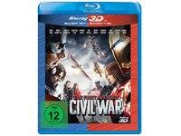 3D Blu-ray The First Avenger: Civil War 3D +2D Nachfolgeprodukt