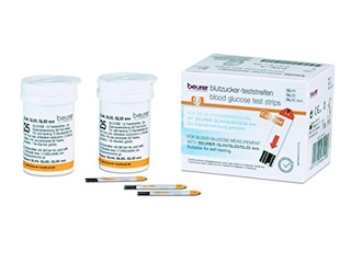 Beurer Blutzucker-Teststreifen GL 44/50 (50 Stück) -