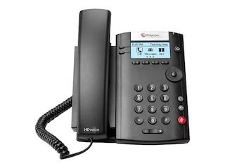 Polycom VVX 201 VOIP Telefon, Farbe: schwarz -