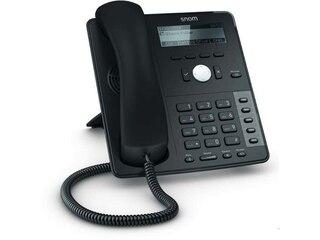 Snom D715 VOIP Telefon, Farbe: schwarz -