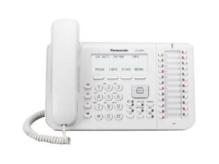 Panasonic KX-DT546NE weiß ISDN-Telefon, weiß -