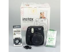 Fujifilm Instax Mini 8 schwarz Fun-Set