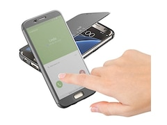Cellular Line Booklet Book Touch für Samsung Galaxy S7 Schwarz