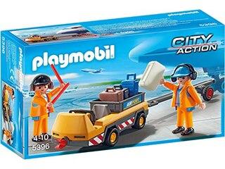 City Action 5396 Flugzeugschlepper mit Fluglotsen -