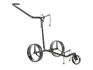 JuCad Golftrolley Caddy Carbon 3-rad Trolley schwarz -