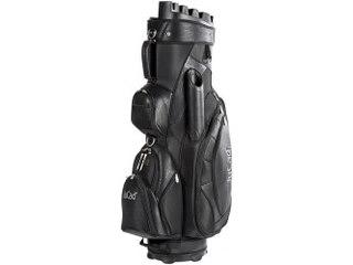 JuCad Golftasche  Bag Manager, 14-fache Schlägerteilung, mit externem Putterfach schwarz -