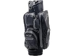 JuCad Golftasche  Aqua Stop, 14-fache Schlägerteilung, mit Putterfach schwarz-titan