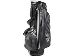 JuCad Golftasche  Waterproof, 14-fache Schlägerteilung, mit Putterfach Schw/Titan