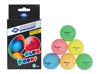 Donic-Schildkröt Tischtennisbälle, 6er Pack -