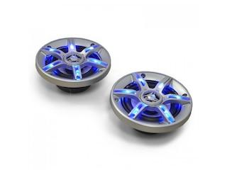 Auna CS-LED4 Paar 4 Zoll Lautsprecher -
