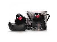 Big Teaze Toys I Rub My Duckie Paris - Black Auflegevibrator