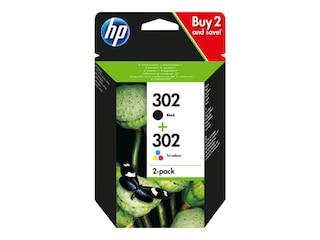 HP Original Tintenpatrone 302 Multipack (X4D37AE) -
