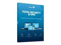 F-Secure Total Security und VPN / 1 Jahr / 3 Geräte