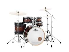 Pearl Drums Dmp905p/c-260 - Decade Maple Studio Fusion 20 Satin Brown Burst