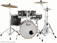 Pearl Drums Dmp905p/c-262 - Decade Maple Studio Fusion 20 Satin Black Burst