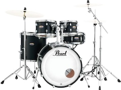 Pearl Drums Dmp925fp/c-227 - Decade Maple Fusion 22 Fusion Satin Slate Black
