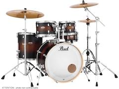 Pearl Drums Dmp925sc-260 - Decade Maple Maple Serie - 5 Kessel Rock 22 Satin Brown Burst