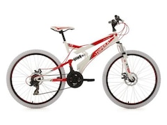 KS Cycling Fully-Mountainbike 26 Zoll, 21 Gang-ShimanoTourney Kettenschaltung, »Topeka«