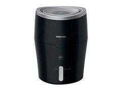Philips HU 4813/10, Luftbefeuchter, 25 Watt, Schwarz/Silber
