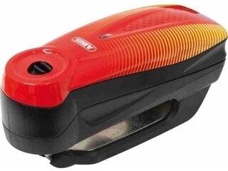 Abus Bremsscheibenschloss 7000 RS 1 sonic red Erschütterungssensor, Inkl. Alarm -