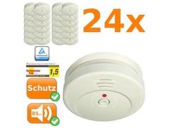 Smartwares RM149/4 (24 Stk.) weiss Rauchmelder