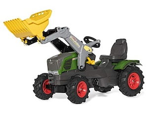 Rolly Toys 611089 Farmtrac Fendt Vario 211 mit Luftbereifung und rollyTrac Lader -