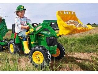 Rolly Toys 710126 Farmtrac John Deere Traktor 7930 mit Lader und Luftbereifung -