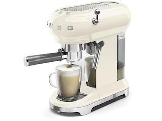 Smeg Espresso-Kaffeemaschine creme (ECF01CREU) -
