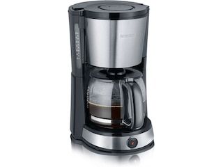 Severin KA 9476 Kaffeemaschine Edelstahl gebürstet/schwarz -
