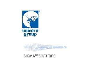 Embassy Sports Dartpfeil-Spitzen Unicorn Sigma Soft Tips 50er (79026) -