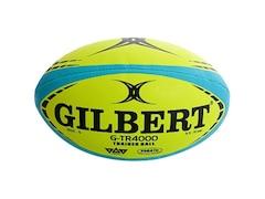 Gilbert Rugby-Trainingsball ??G-TR4000 Fluoro??, Größe 4