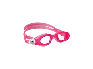 Aqua Sphere Kinder Schwimmbrille Moby Kid pink-weiss -