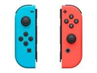 Nintendo Switch Joy-Con 2er-Set Controller Neon-Rot, Neon-Blau