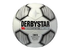 Derbystar Fußball Stratos TT weiß-schwarz 4