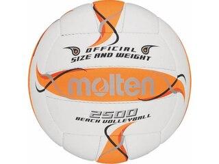 Molten Training Volleyball Gr. 5 weiß-orange-silber -