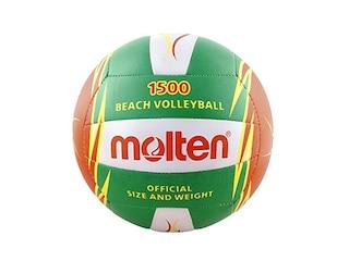 Molten Beachvolleyball Gr. 5 grün-orange-weiß -